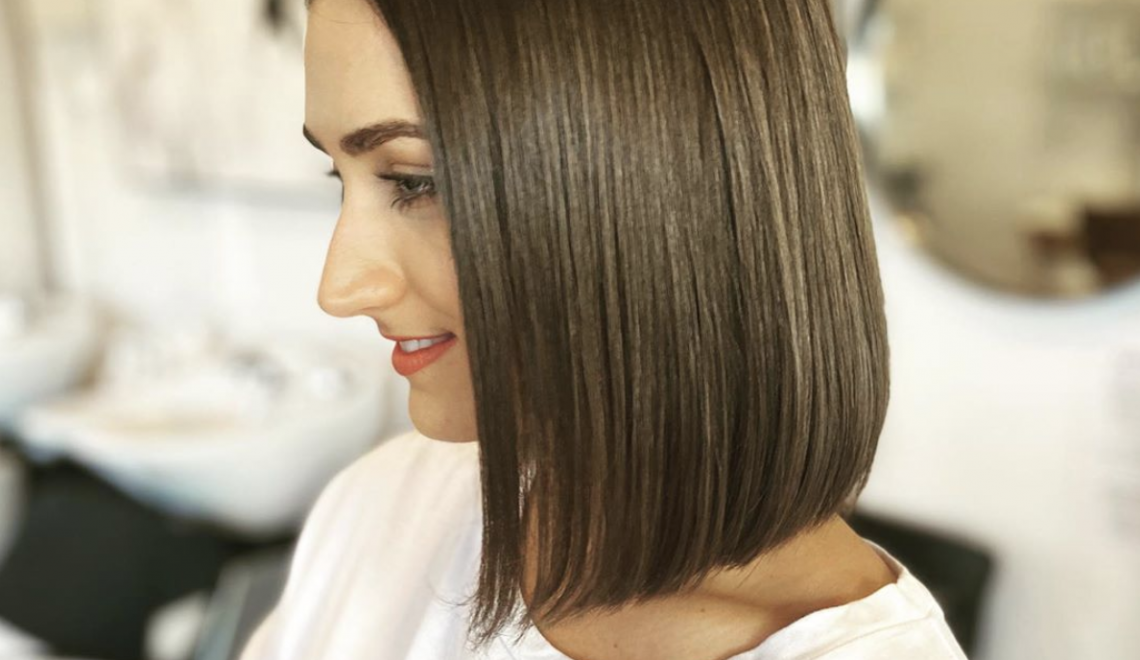 haircut styles for thin hair blunt bob